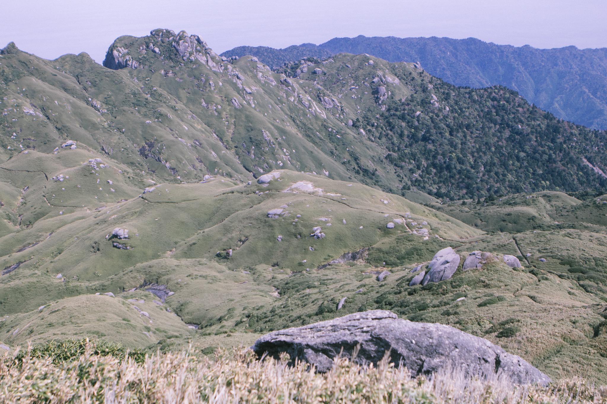 宮之浦岳から望むネマチ