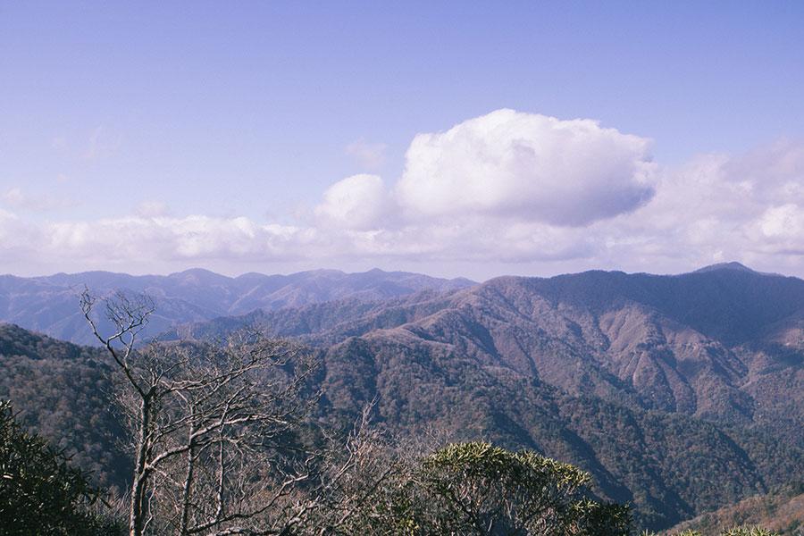 扇山山頂からの眺望
