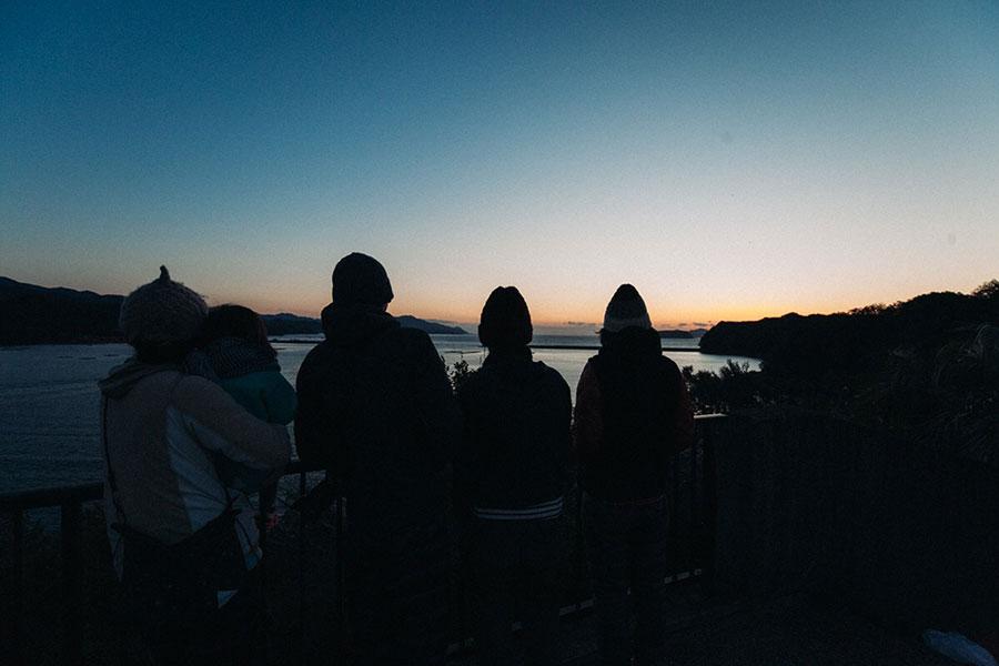 徳島海陽町の夜明け