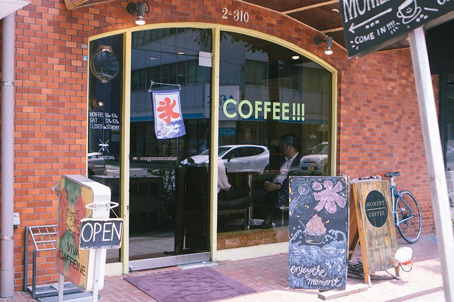 MOMENT COFFEE 外観