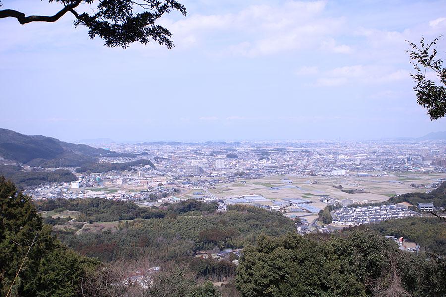 岩門城跡からの眺望