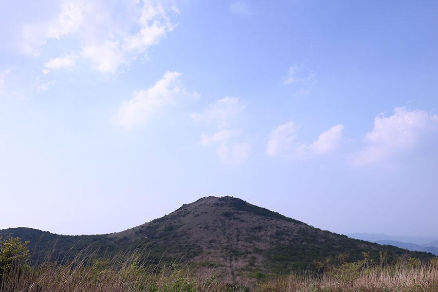 もうすぐ福智山