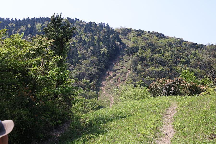 焼立山(赤牟田の辻)の急登