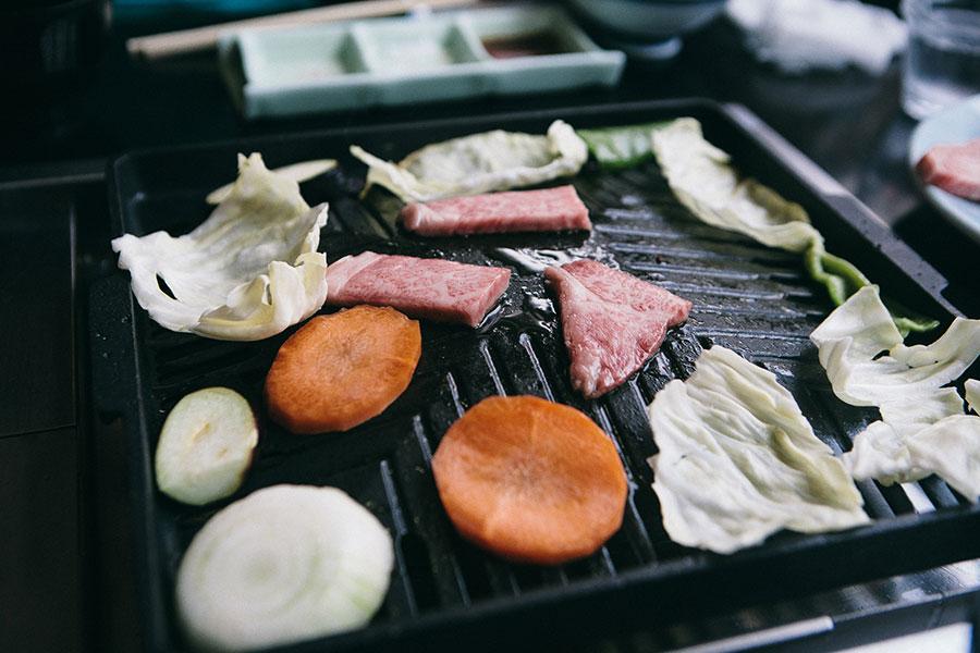 壱岐牛とお野菜