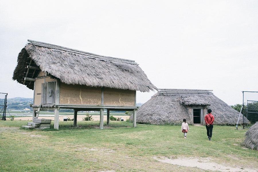 掘立柱建物と竪穴住居