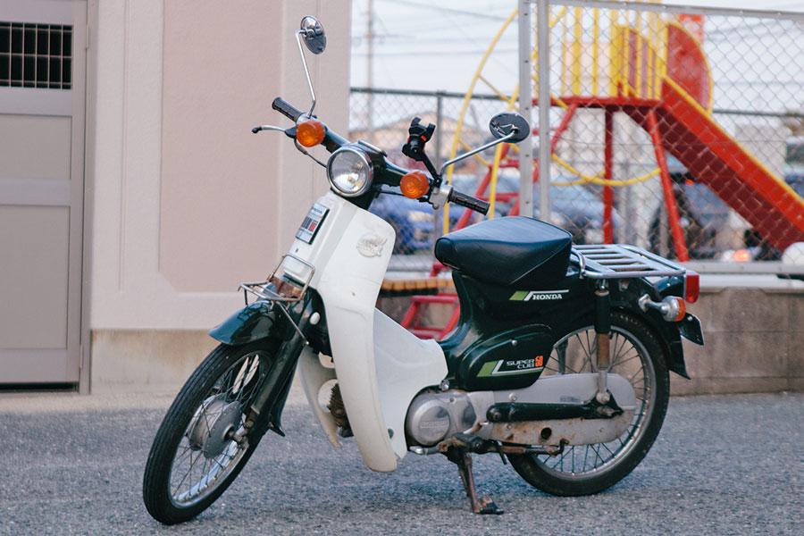スーパーカブC50デビュー
