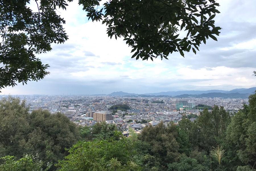 観音山からの眺望(東区方面)