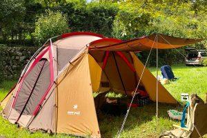 吉井百年公園はファミリーキャンプにおすすめの優良キャンプ場です!